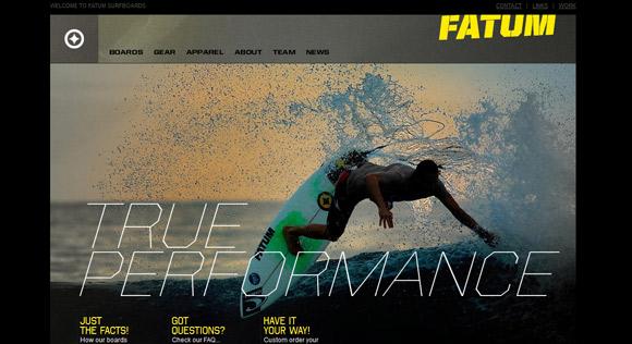 拒绝平淡,创建动感的网页设计