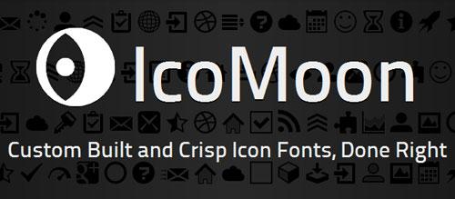 使用icomoon定制网页字体