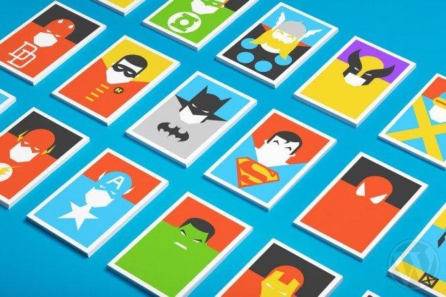 创意动漫角色名片设计欣赏11