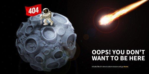coolappse 404页面设计欣赏