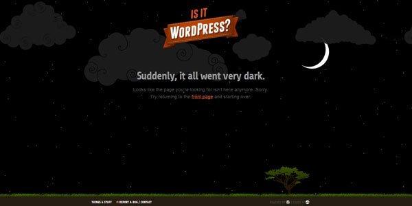 isitwp 404页面设计欣赏