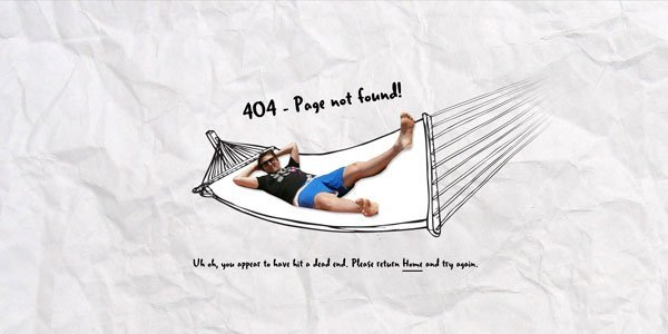 ian james cox 404页面设计欣赏