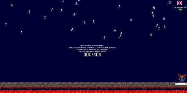 Romain Brasier 404页面设计欣赏
