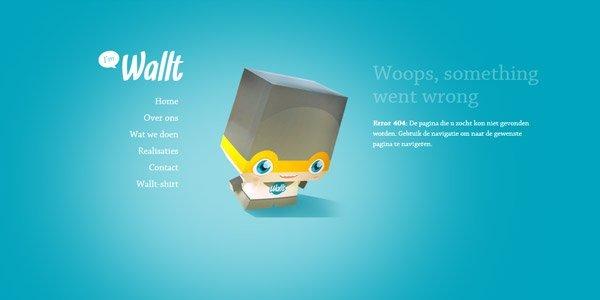 wallt 404页面设计欣赏