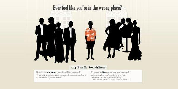 Element creative 404页面设计欣赏