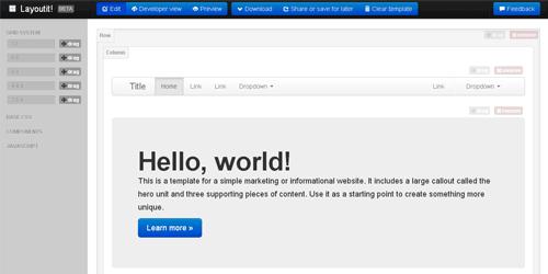 layoutit在线布局工具