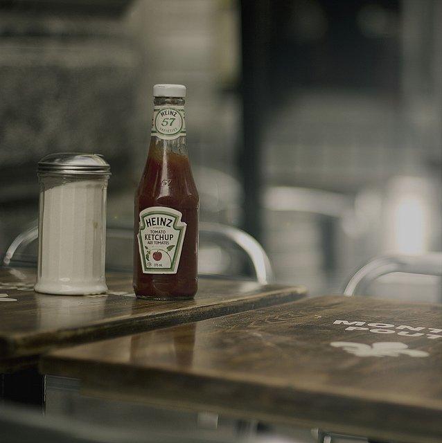 优秀摄影作品 Ketchup aux tomates