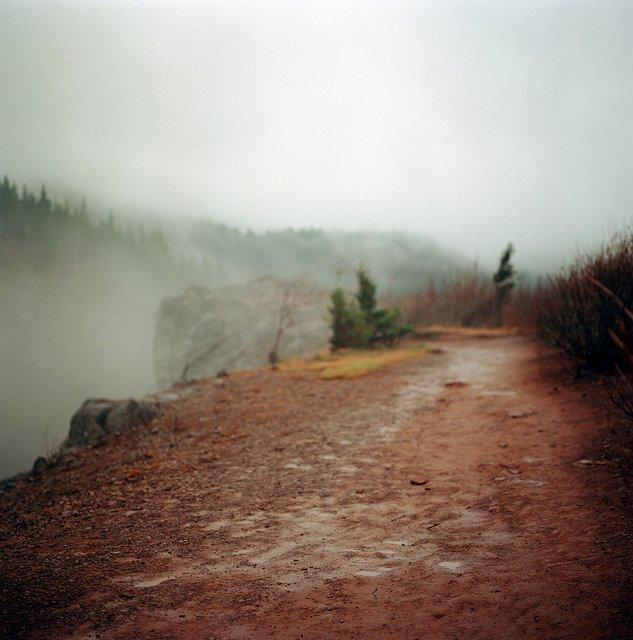 优秀摄影作品 a muddy trail is a good trail