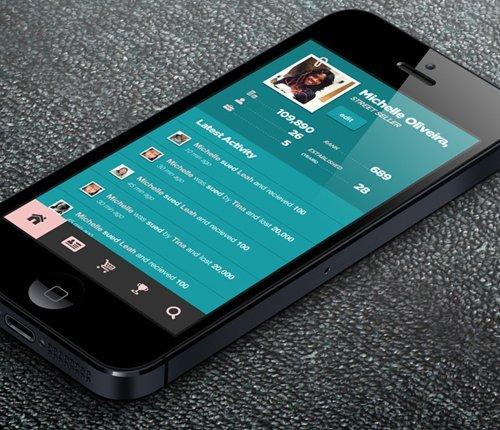 手机界面设计UI/UX-23
