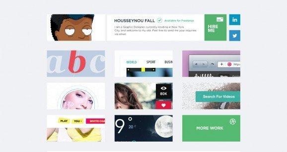 扁平化网页设计mazefall
