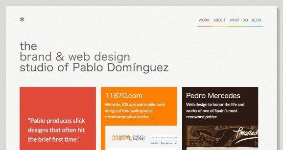 扁平化网页设计Tinybigstudio