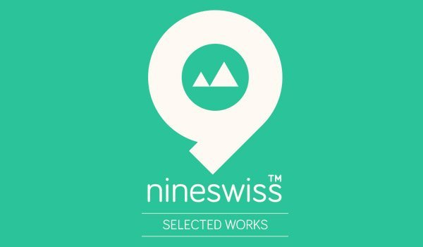 Nineswiss in Showcase of Turquoise Websites