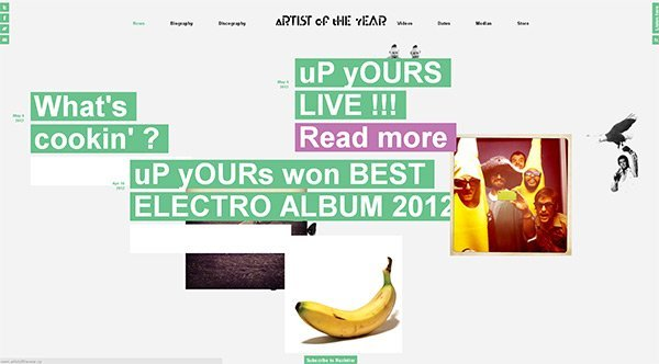AOTY in Showcase of Turquoise Websites