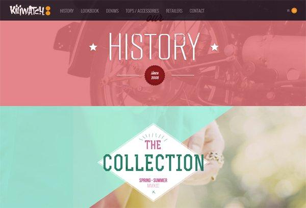 Kiliwatch - 柔和色彩的网页设计
