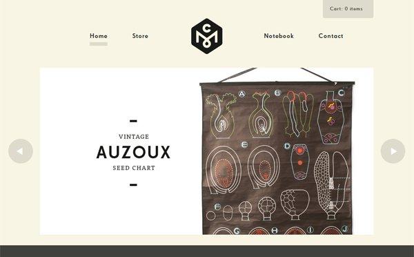 Concrete Matter - 柔和色彩的网页设计
