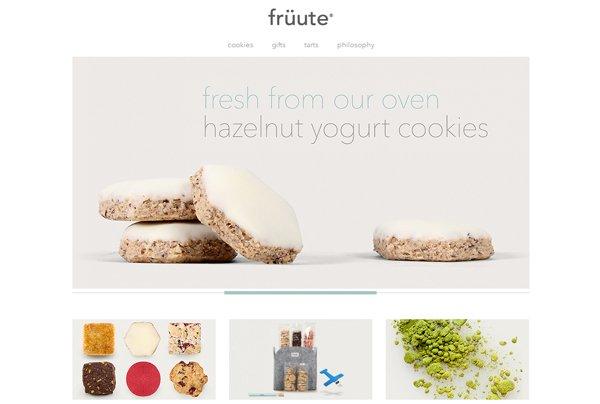 Fruute - 柔和色彩的网页设计