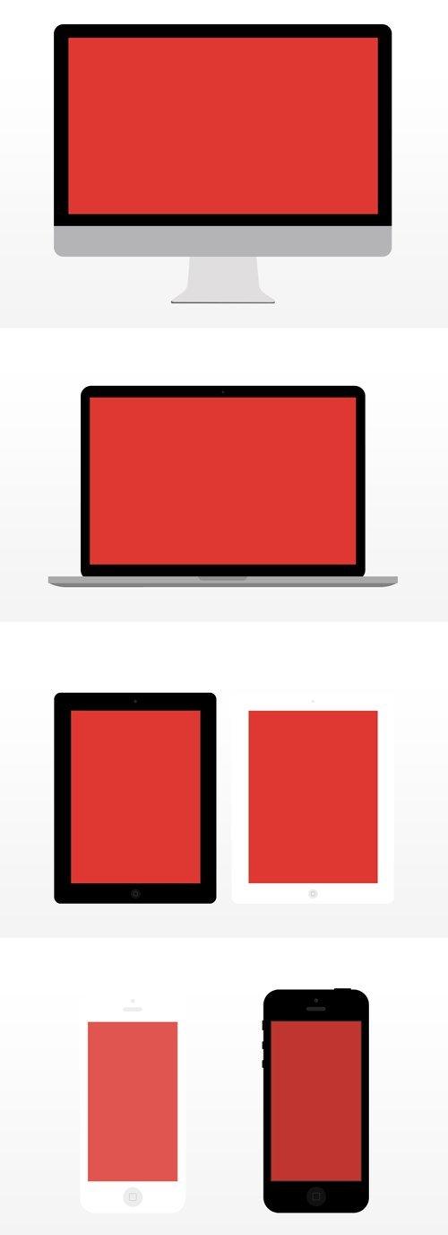 扁平化设计元素-18