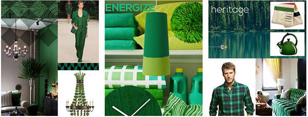 绿宝石配色的网页设计