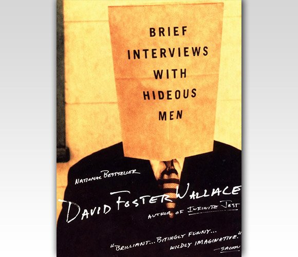 封面设计:Brief Interviews with Hideous Men