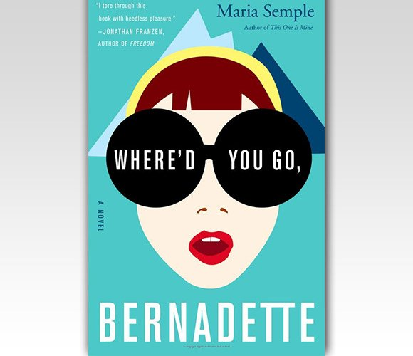 封面设计:Where'd You Go, Bernadette