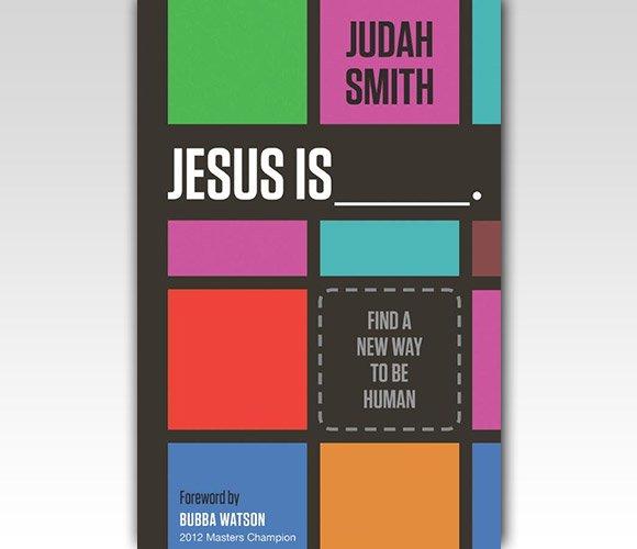 封面设计:Jesus Is: Find a New Way to Be Human