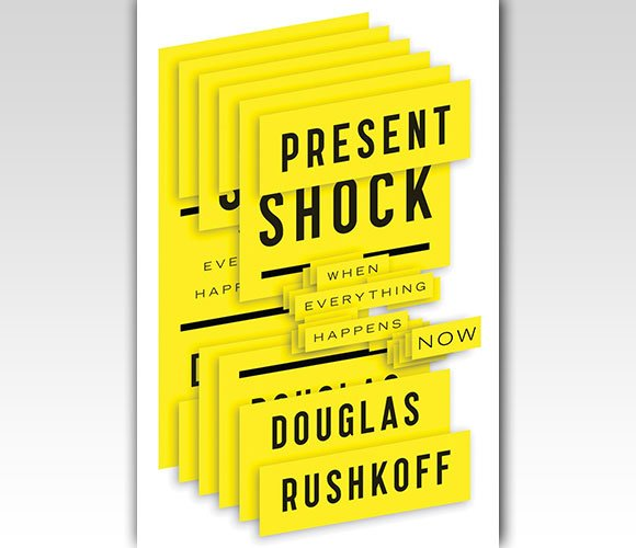 封面设计:Present Shock: When Everything Happens Now