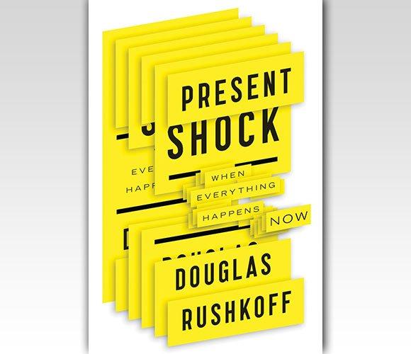封面设计:Present Shock: When Everything Happens Now