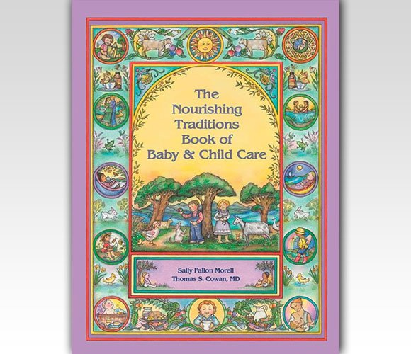 封面设计:The Nourishing Traditions Book of Baby & Child Care
