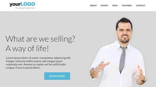 Free PSD Template 免费网站模板下载