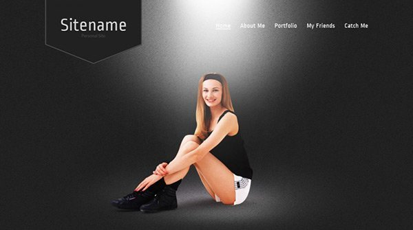 template_01 免费网站模板下载