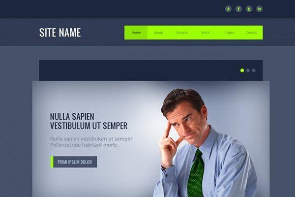 template_13 免费网站模板下载