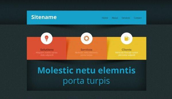 template_30 免费网站模板下载