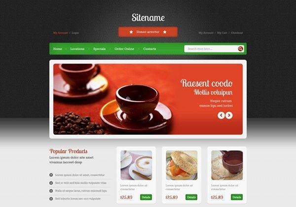 template_15 免费网站模板下载