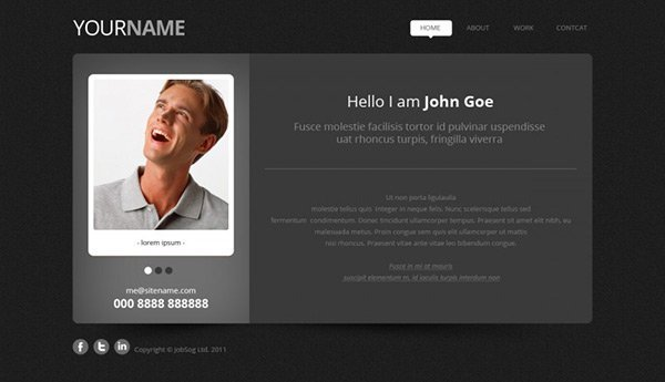 template_25 免费网站模板下载