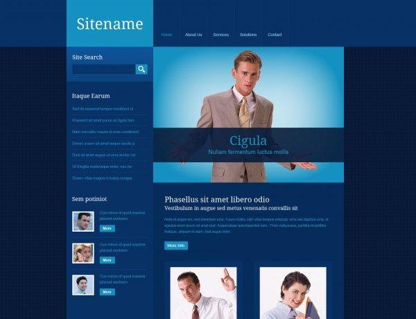 template_22 免费网站模板下载