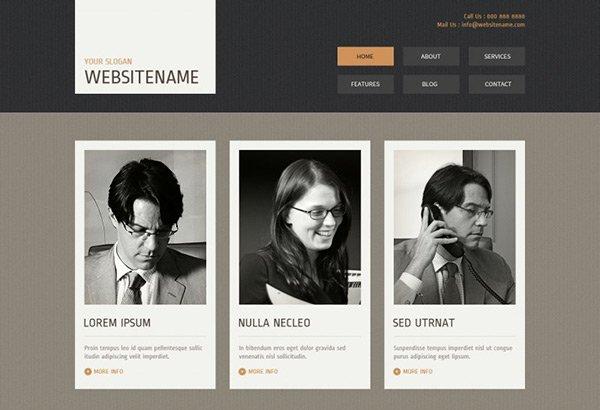 template_06 免费网站模板下载