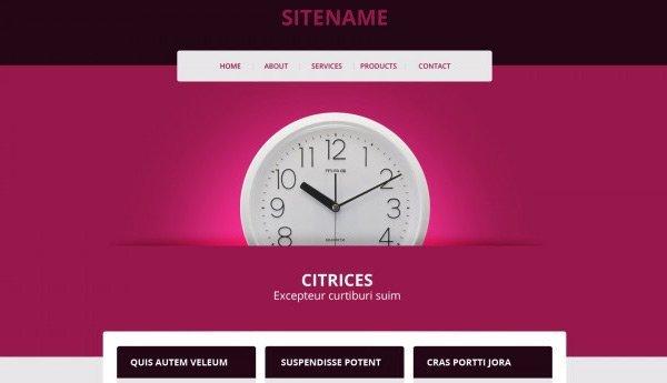 template_29 免费网站模板下载