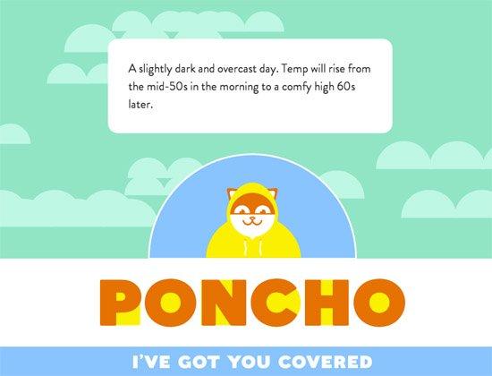 着陆页 - Poncho