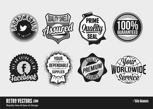 50s-badges