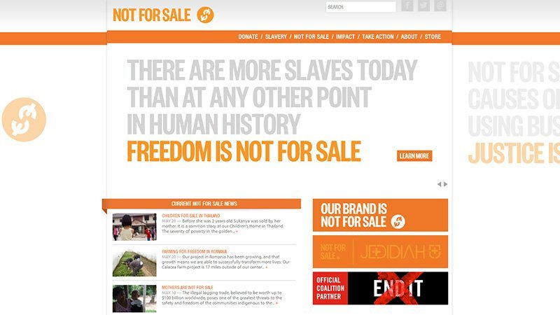Not For Sale Campaign