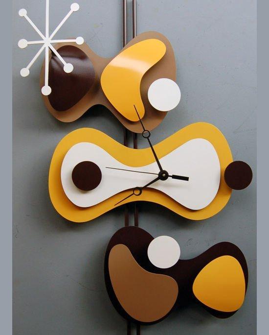 金属原子时钟雕塑