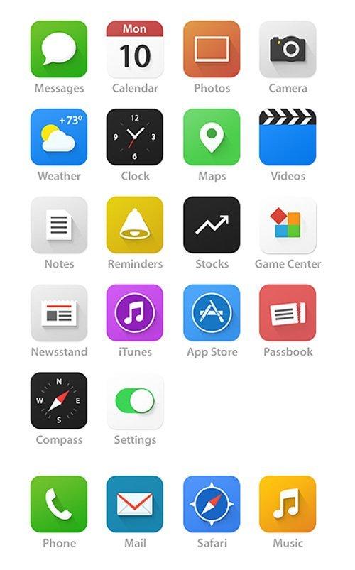 UI设计 iOS 7 - Redesign UIUX