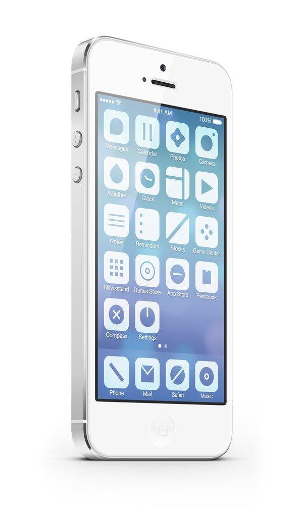 UI设计 iOS7 - Minimalist Concept