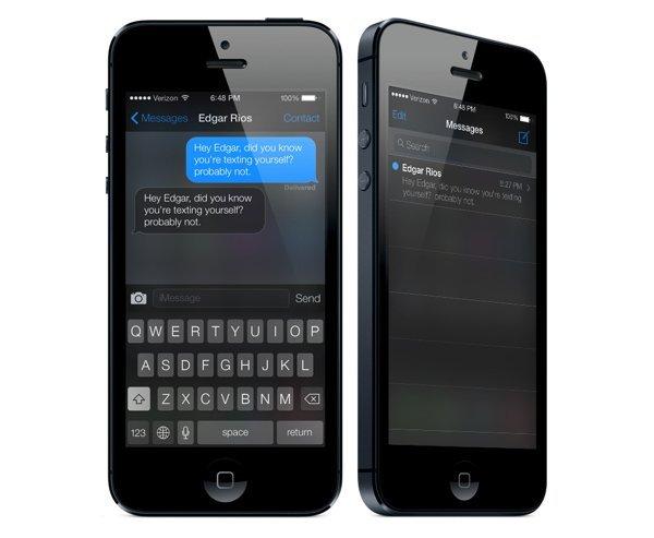 UI设计 iOS7 Black