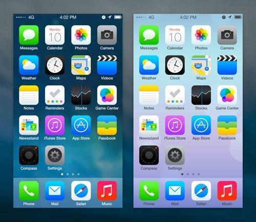UI设计 iOS 7 Redesign-1