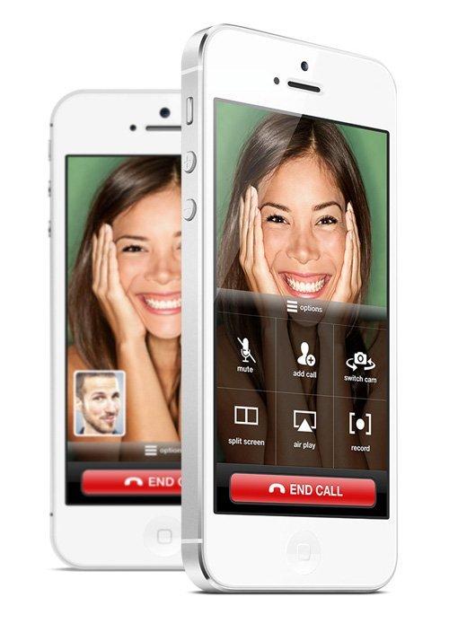 UI设计 FaceTime iOS 7 Concept