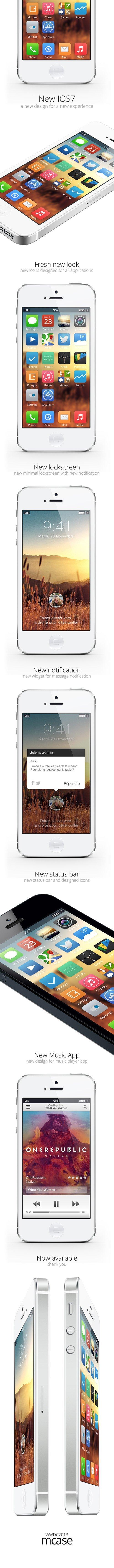 UI设计 IOS7 Concept MCASE