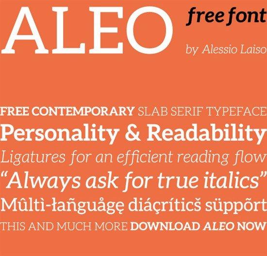 ALEO Free Font Family