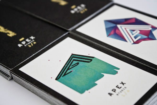 名片设计作品 - apex