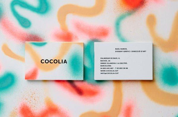 名片设计作品 - cocolia
